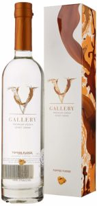 V Gallery Fudge Flavoured Toffee Vodka